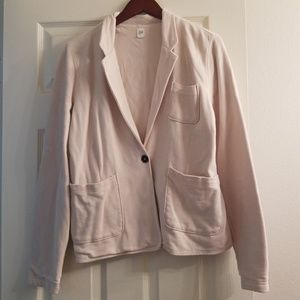 GAP blazer made from hoodie material
